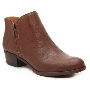 Lucky Brand Barough Brown Bootie - 8.5